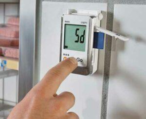 Тесто 175 логгер данных температуры