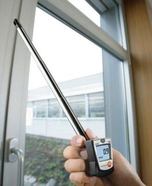 Тесто 405 - анемометр воздуха с поверкой