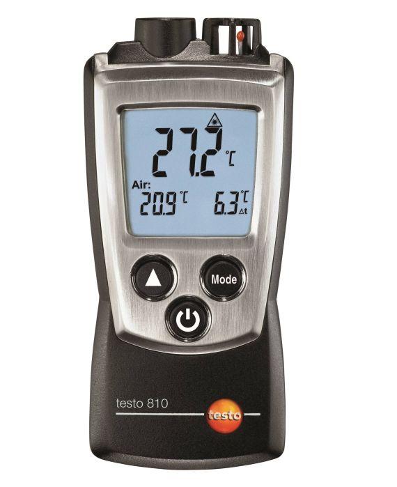 Тесто 810 – инфракрасный термометр